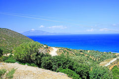 Beautiful view of Zakynthos Stock Photos