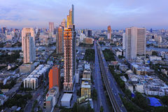 Beautiful viewpoint city of bangkok Royalty Free Stock Photography