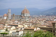 The beautiful viewpoint in Florence Royalty Free Stock Image
