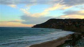 Beautiful views of the Altea, Spain stock video