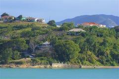 Views of Antigua, Caribbean royalty free stock images