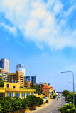 Beautiful views of the business center of Colombo, Sri Lanka Stock Photos