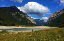 Beautiful views of Canadian Rockies - Yoho royalty free stock image