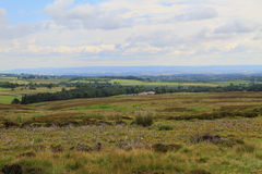 Beautiful views and cloud formation, North Yorkshire Stock Photos