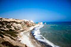 Beautiful views of the coastline. Cyprus Stock Photos