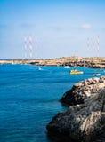 Beautiful views of the coastline. Cyprus Royalty Free Stock Image