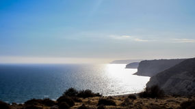 Beautiful views of the coastline. Cyprus Royalty Free Stock Photography