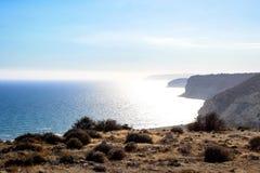 Beautiful views of the coastline. Cyprus Stock Photography
