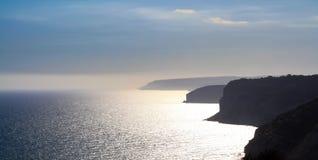 Beautiful views of the coastline. Cyprus Stock Image