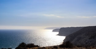 Beautiful views of the coastline. Cyprus Royalty Free Stock Images