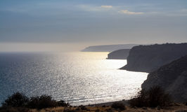 Beautiful views of the coastline. Cyprus Stock Images