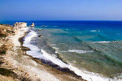 Beautiful views of the coastline. Stock Image