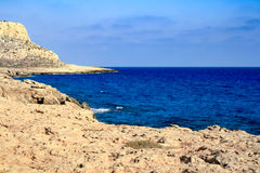 Beautiful views of the coastline. Royalty Free Stock Photography
