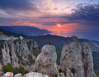 Beautiful views of the Crimean Mountains Royalty Free Stock Photos