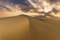 Beautiful views of the desert landscape. Gobi Desert. Mongolia Stock Image