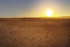 Beautiful views of desert Stock Photos