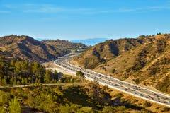 Beautiful views of the 405 freeway Stock Image