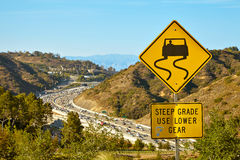 Beautiful views of the 405 freeway Stock Photography