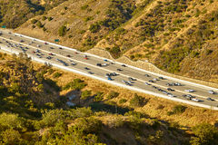 Beautiful views of the 405 freeway Stock Images