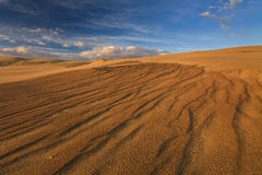 Beautiful views of the Gobi desert. Royalty Free Stock Photography