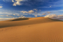 Beautiful views of the Gobi desert. Royalty Free Stock Photo