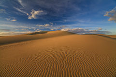 Beautiful views of the Gobi desert. Royalty Free Stock Images