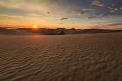 Beautiful views of the Gobi desert. Stock Images