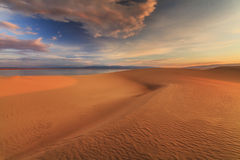 Beautiful views of the Gobi desert. Stock Image