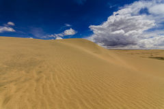 Beautiful views of the Gobi desert. Royalty Free Stock Image