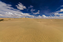 Beautiful views of the Gobi desert. Stock Photo