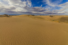 Beautiful views of the Gobi desert. Stock Photography