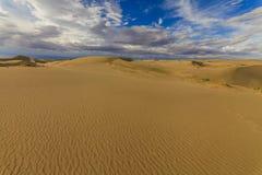 Beautiful views of the Gobi desert. Stock Photography