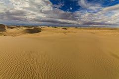 Beautiful views of the Gobi desert. Royalty Free Stock Photo