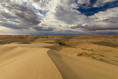 Beautiful views of the Gobi desert. Royalty Free Stock Photos