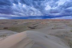 Beautiful views of the Gobi desert. Royalty Free Stock Photography