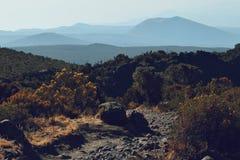 Horombo hut. Beautiful views at Horombo Hut, Mount Kilimanjaro Royalty Free Stock Images