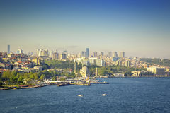 Beautiful views of Istanbul Royalty Free Stock Images