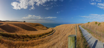 Beautiful views from Kaikoura Peninsula Walkway, high resolution Stock Photography