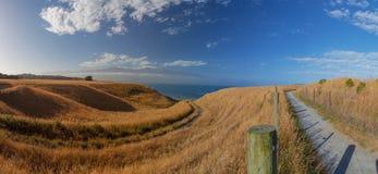 Beautiful views from Kaikoura Peninsula Walkway, high resolution Stock Photography