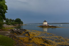 Beautiful Views of the Nubble in Maine Royalty Free Stock Image