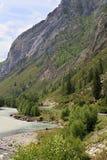 Beautiful views of River Chuya near Chuysky Trakt Royalty Free Stock Photography