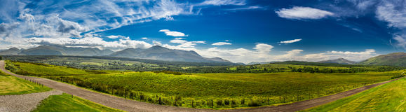 Beautiful views of the Scottish highlands Royalty Free Stock Image