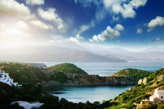 Beautiful views of sea Stock Image