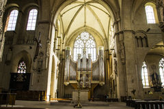 Beautiful views St.-Paulus-Dom in germany Royalty Free Stock Photo