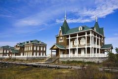 Beautiful villa Royalty Free Stock Image