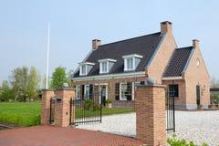 Beautiful villa Stock Images