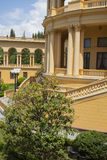 Beautiful villa in ancient greek classic style Royalty Free Stock Photo