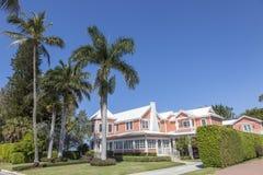 Beautiful villa in Florida stock photo