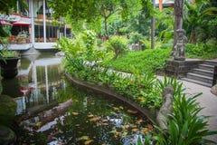 Beautiful villa in Kuta Royalty Free Stock Images