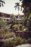 Beautiful villa in Kuta Stock Photos